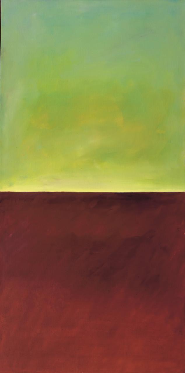Horizont 2004 Öl auf Leinwand 60x120cm