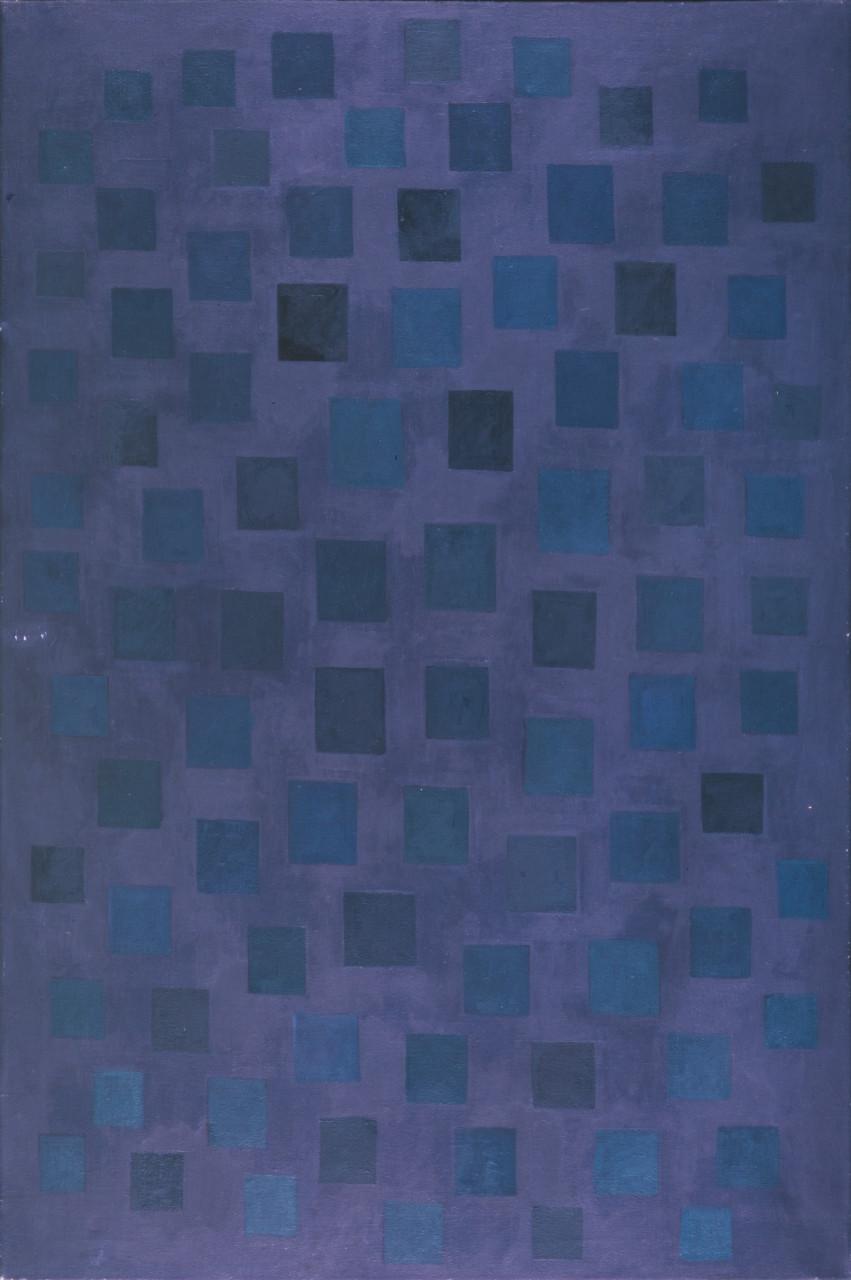 Komposition 1980 Öl auf Leinwand 90x120cm