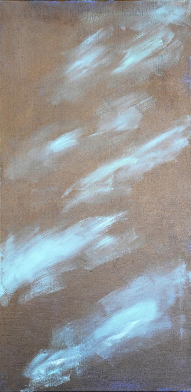 Komposition 2017 Acryl auf Leinwand 60x120