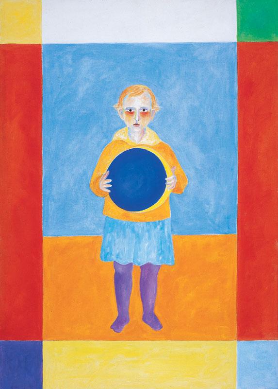 Agnes 2000 Öl auf Leinwand 100x140cm