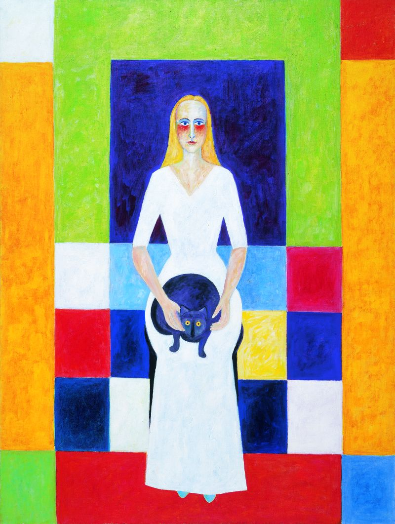 Judith 2000 Öl auf Leinwand 110x150cm