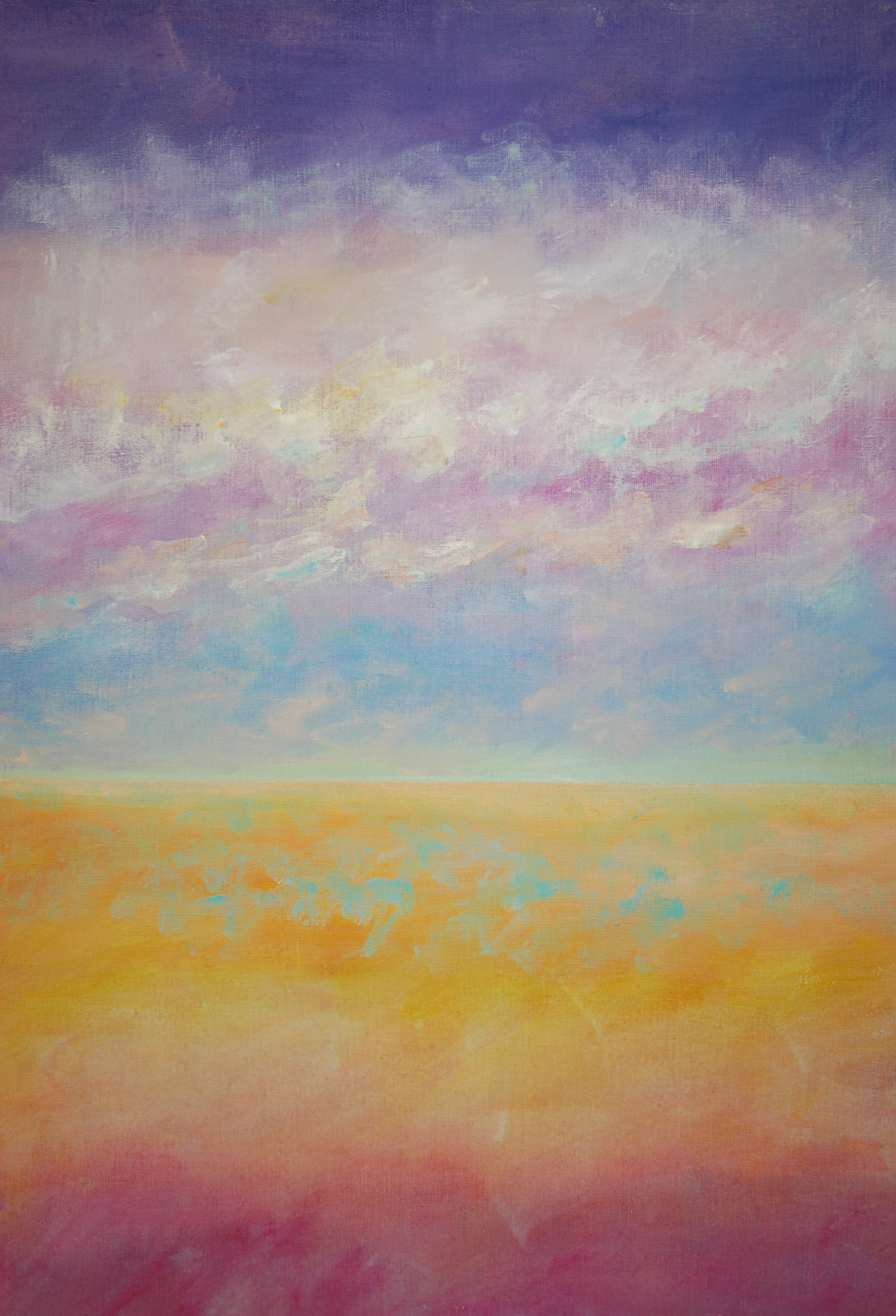 Horizont 2006 Acryl auf Leinwand 90x120cm