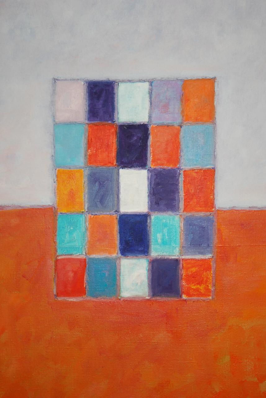 Komposition 2006 Acryl auf Leinwand 50x60cm