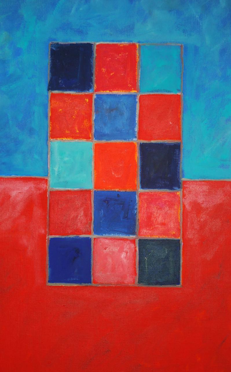 Komposition 2006 Acryl auf Leinwand 50x70cm