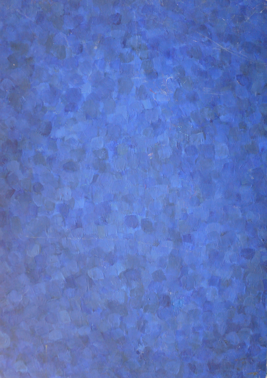 Komposition 1978 Öl auf Sperrholz 30x40cm