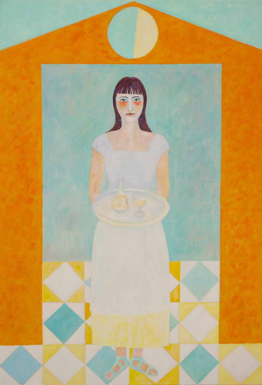 Anastasia 2014 Acryl auf Leinwand 120x160cm