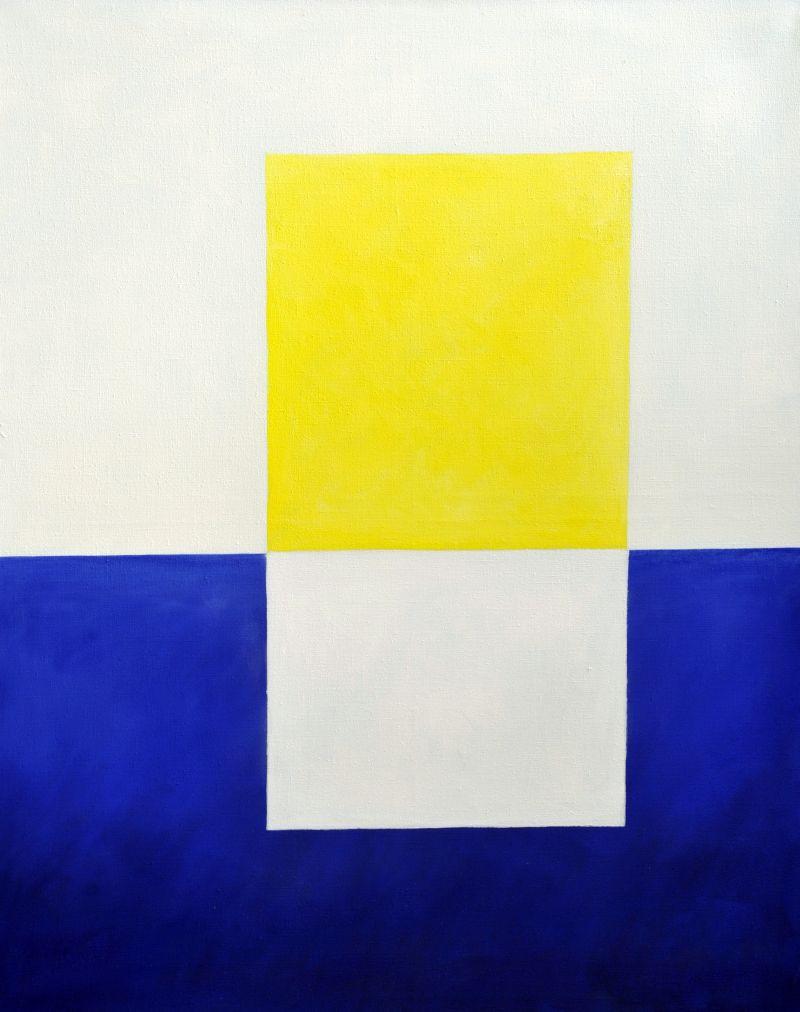 Komposition 2012 Acryl auf Leinwand 160x190cm