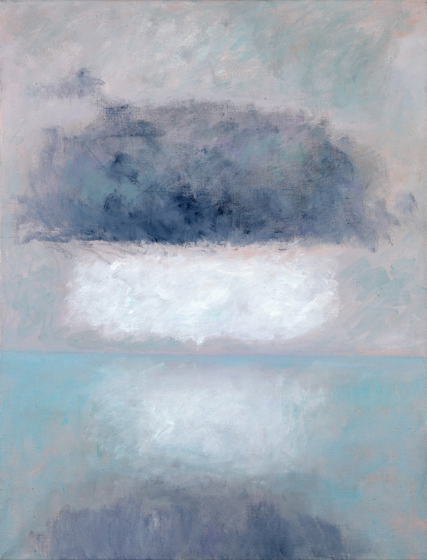 Dunkle Wolke 2003 Öl auf Leinwand 85x110cm