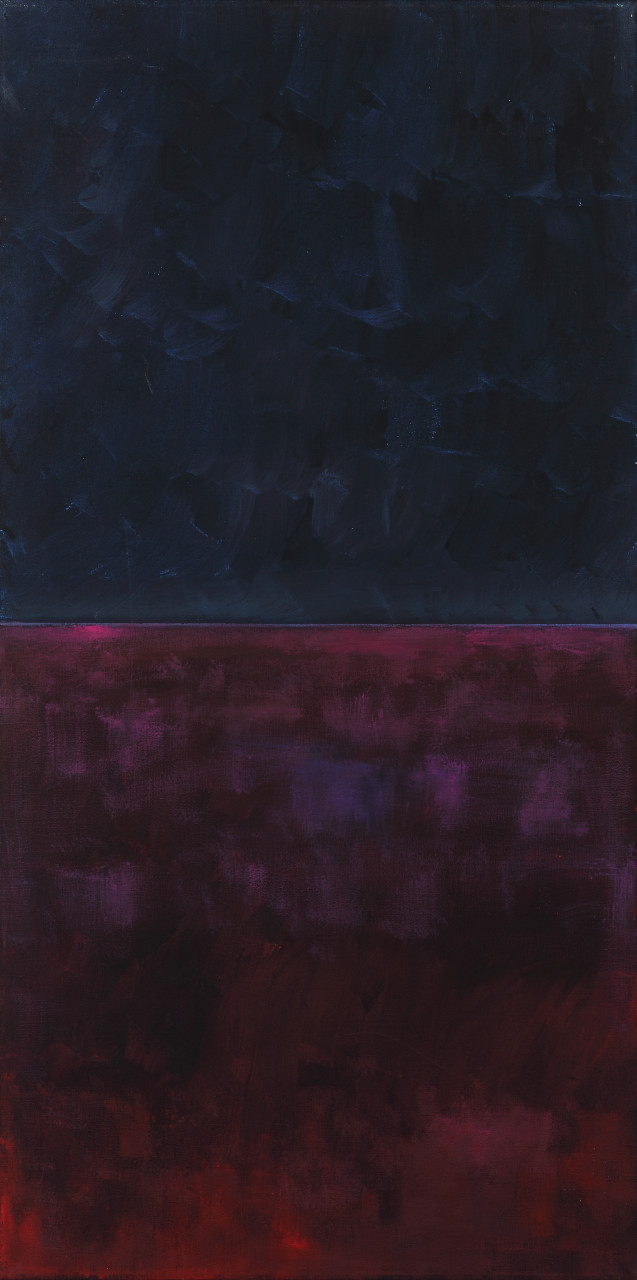 Horizont 2005 Öl auf Leinwand 60x120cm