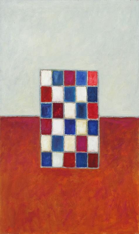Komposition 2004 Acryl auf Leinwand 60x100cm