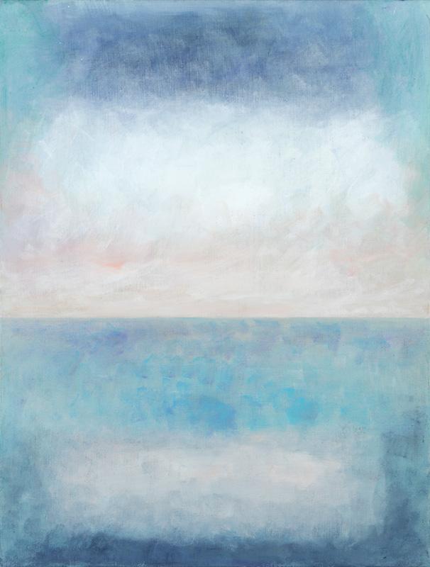 Horizont 2005 Acryl auf Leinwand 110x120cm