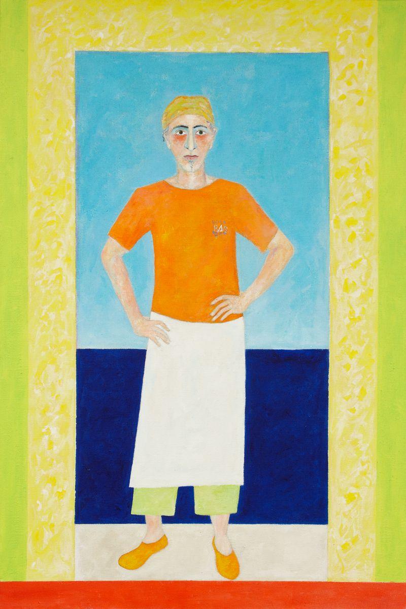 Marco Sasso 2011 Acryl auf Leinwand 100x140cm